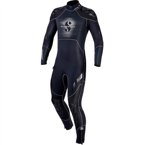 Scubapro EverFlex Steamer 7/5mm Men's Wetsuit, Black/Gray by Scubapro