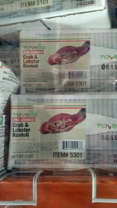 Ravello: Crab & Lobster Ravioli 5 Lb by Ravello