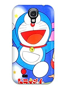 Hot Premium Case With Scratch-resistant/ Doraemon Case Cover For Galaxy S4