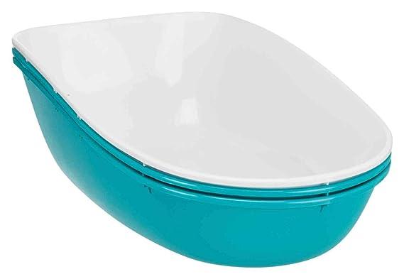Trixie 40163 Bandeja Bertotop, Cubierta, 39 x 42 x 59 cm, Azul: Amazon.es: Productos para mascotas