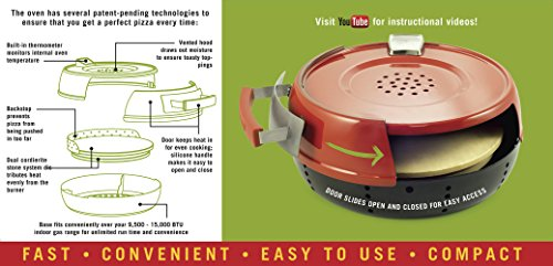 Pizzacraft PC0601 Pizzeria Pronto Stovetop Pizza Oven