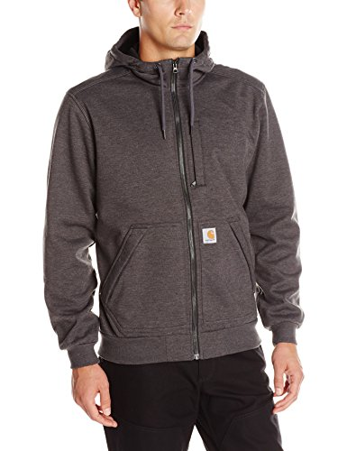 Carhartt Men's Wind Fighter Sweatshirt, Carbon Heather, Large - Fighter Carbon