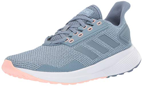 adidas Women's Duramo 9 Running Shoe, raw Grey/raw Grey/ash Grey, 6.5 M US