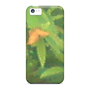 Shock-Absorbing Hard Phone Covers For Iphone 5c (srK19004aPZL) Allow Personal Design Attractive Butterfly Series