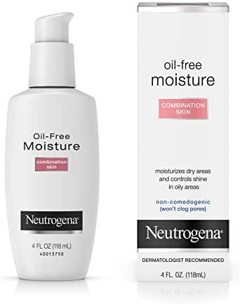 Neutrogena Oil-Free Moisture, Combination Skin, 4 Ounce, Packaging May Vary