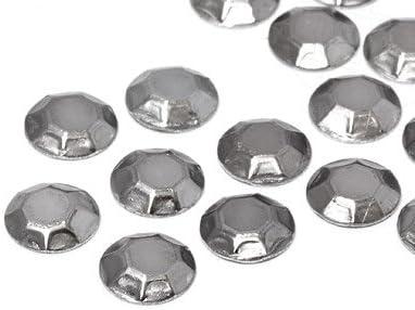 Unique Hotfix Aluminium Rhinestuds 6mm Antiksilber Restposten