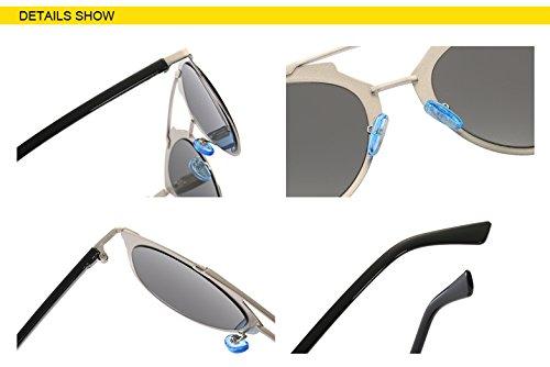 lusso Flat donne occhiali colore Eye da Cat Oculos sole Top Aprigy PqAERWnE