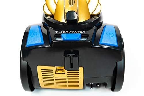 ECO-DE Aspirador Absolut Multi Cyclone, Aspirador de Trineo Multi Cyclone, Doble Filtro HEPA sin Bolsas ECO-370: Amazon.es: Hogar