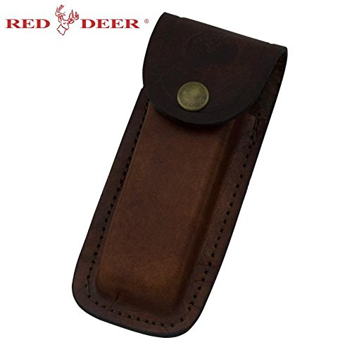 Leather Knife Case - Folding Knife Genuine Leather Pouch