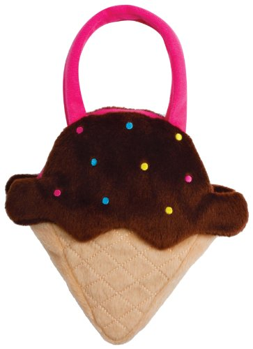 North American Bear Chocolate Ice Cream Goody Plush Bag - North American Bear Handbag
