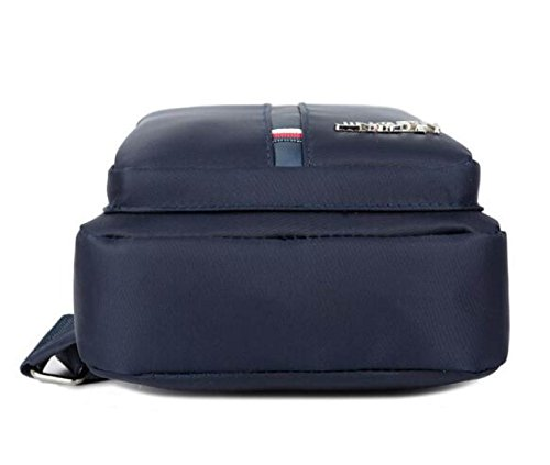 Corsé De Deportivo Paquete Black Hombro Impermeable Bag Casual Hombre Bolso Messenger Oxford RfZCr