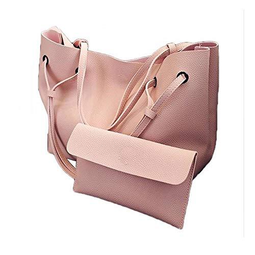 23c9b4eeffa1 Yovoni Combo Pack of Women s PU Soft Leather Shoulder Bag and Handbag   Amazon.in  Shoes   Handbags