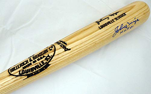 (Johnny Mize Autographed Louisville Slugger Bat