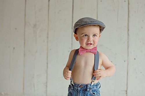 Amazon.com  Born to Love - Baby Boy s Hat Grey Herringbone Driver Page Boy  Cap  Clothing e1db37526b2