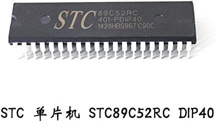 5Pcs STC89C51RC STC89C52RC-40C-PDIP IC Serial Microcontroller SCM DIP-40 #K1995