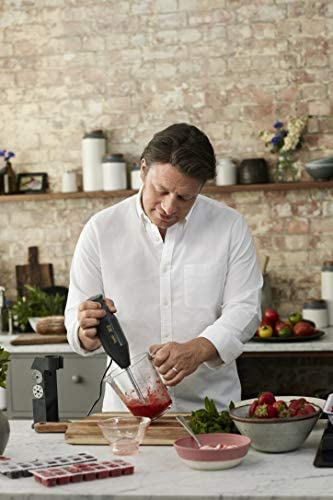 Bamix batidora de varilla Jamie Oliver, antracita: Amazon.es: Hogar