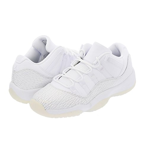 super popular 1bf78 eddb7 Nike AIR JORDAN 11 RET NIEDRIG PR HC Mädchen Mode-Turnschuhe 897331 Weiß    Weiß ...