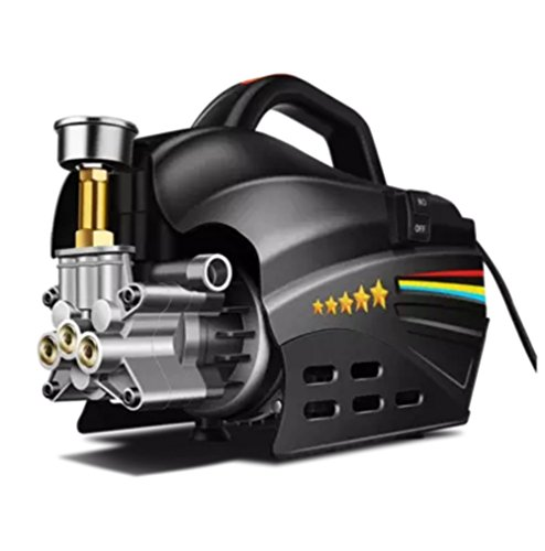High Pressure Washer Pressure Washer Car 100Bar Working Pressure Pure Copper 1500W Professional Washer Cleaner Machine Ideal For Washing Cars, Cleaning Decking, Paths, Driveways, Fences Etc.:
