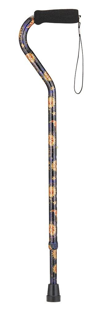 NOVA Designer Offset Handle Cane, Celestial by NOVA Medical Products (Image #2)
