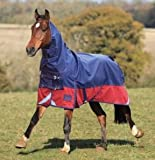Shires Highlander Lite Turnout Blanket 69 Petrol