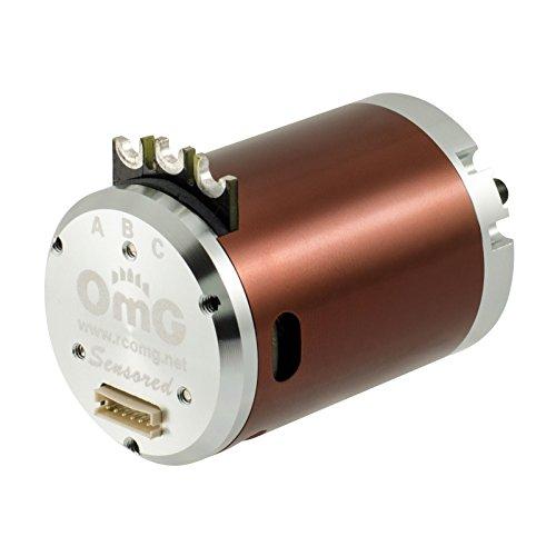 RCOMG Brushless Sensored Motor 2 Poles 540-3850kv-9.5T apply to 1/10 Scale Rc Drift Car,Touring Car,On-Road Car -