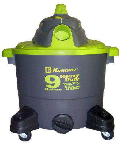Koblenz WD-9 K 9-Gallon Wet/Dry Vac with Detachable Air Blower