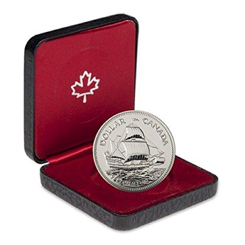 (1979 CA Canada Silver Specimen Dollar Griffon Ship in the Box $1 BU Royal Canadian Mint)
