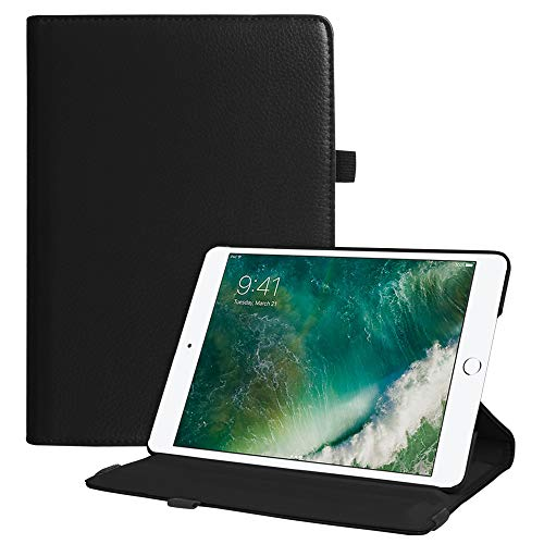 Fintie iPad 9.7 2018 2017 / iPad Air 2 / iPad Air Case - Multiple Angles Stand Smart Protective Cover with Auto Sleep Wake for iPad 9.7 inch (6th Gen, 5th Gen) / iPad Air 2 / iPad Air, Black