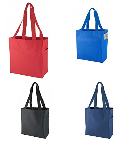 Designer Vinyl Tote Bags - 3