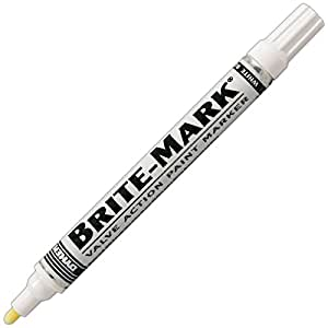 Dykem brite mark paint marker valve action for Dykem paint markers