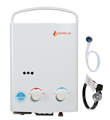 Camplux-5L-132GPM-Propane-Portable-Tankless-Water-Heater-and-Outdoor-Shower-Low-Pressure-Start-Up