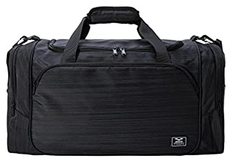 MIER 21 Sports Gym Bag With Wet Pocket Travel Duffel For Men And Women