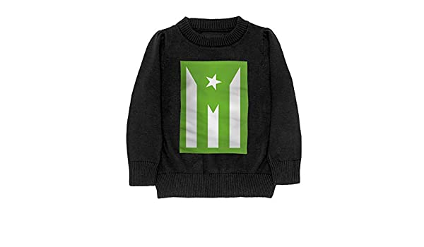 Puerto Rico Cool Adolescent Boys Girls Unisex Sweater Keep Warm