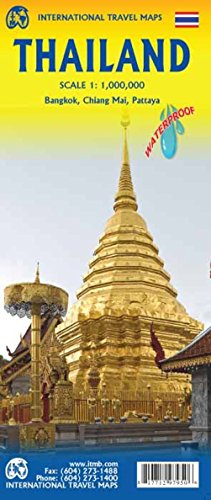 Thailand Travel Reference Map (WP) 1:1M...