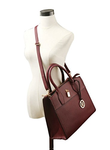 LeahWard® Damen Mode Essener Vorderseite Tasche greifen Tote Handtasche Modisch Qualität Bote Schultertaschen CWS00366 Schwarz Tragetasche MLnoryij2s