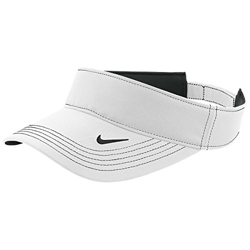 Nike Golf 429466 Adult's Dri-FIT Swoosh Visor White One Size...