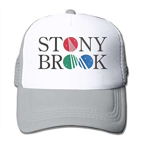 - Shayprove Female & Mens Unisex Print with Stony Brook University Adult Mesh Cap Adjustable Gray