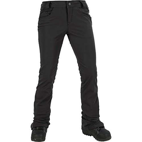 Volcom Junior's Battle Stretch 2 Layer Shell Snow Pant, Black, (Stretch Snow)