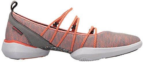 Jambu Orange Flache Schuhe Grey Frauen qSfZqnA