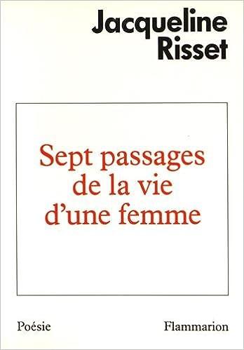 Livres gratuits en ligne Sept passages de la vie d'une femme epub, pdf