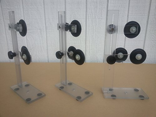 3 rod building lathe wrapper supports ball bearing o-rings