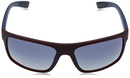 Rubber Sport Prada PS 02QS Bordeaux Sonnenbrille zxw1q