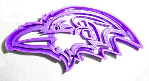 - BALTIMORE RAVENS NFL FOOTBALL LOGO SPECIAL OCCASION COOKIE CUTTER BAKING TOOL 3D PRINTED MADE IN USA PR974