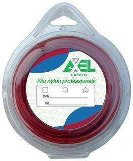 modelo: 3,3 mm X 15 MT hilo desbrozadora Nylon sección redonda ...