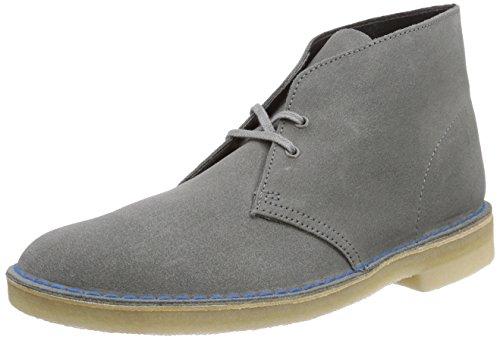 Clarks Originals Desert Boot, Stivali Chukka Uomo Grigio (Greystone Suede)