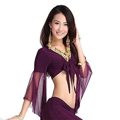 Belly Dance Gauze Tops Dancing Bandage Bra Costume
