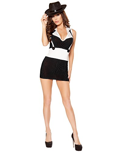 Mafioso Hottie Costume - Medium - Dress Size]()