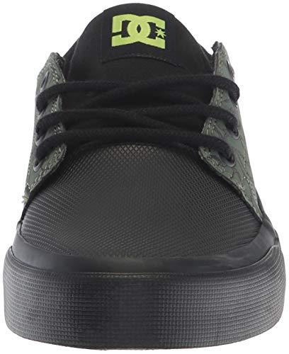 Boys' black ShoeBlack soft Kid Skate Us Se Trase 5 Little Lime10 Dc M Ifyb67vYg