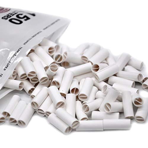 ❤JPJ(TM)❤️_Home decoration 150Pcs New Creative Hornet Per Rolled Tips Natural Prerolled for Cigarette Rolling Paper 6MM (White)