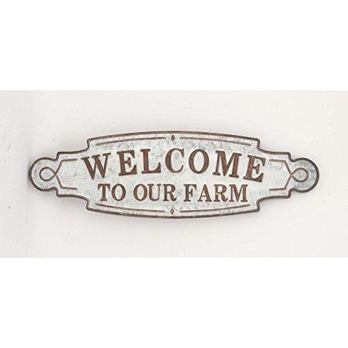 Benzara Attractive Welcome Sign Board